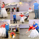 Giselle and Micael first dance practice