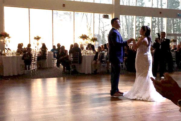 wedding first dance performance