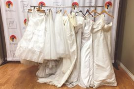 wedding dresses/skirts to practice