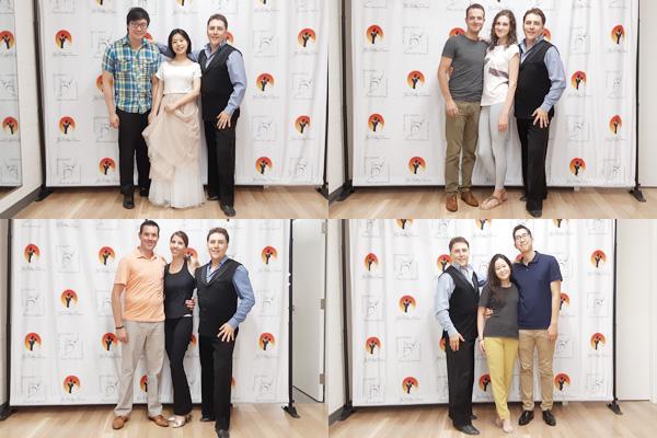 our graduats of wedding dance programm