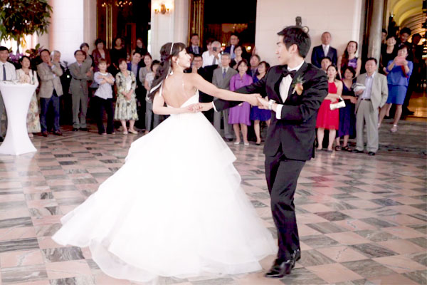 Lovely first dance