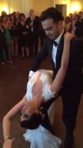 Bahar and Siamak wedding dance