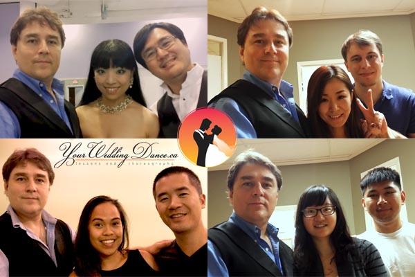 wedding 1st dance selfies October 2016