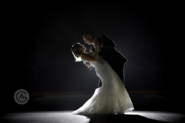 wedding first dance by Martha and Rob