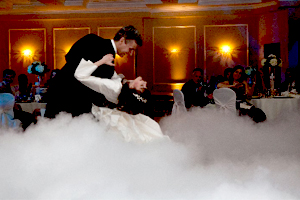 Don't Use Artificial Fog during your wedding dance