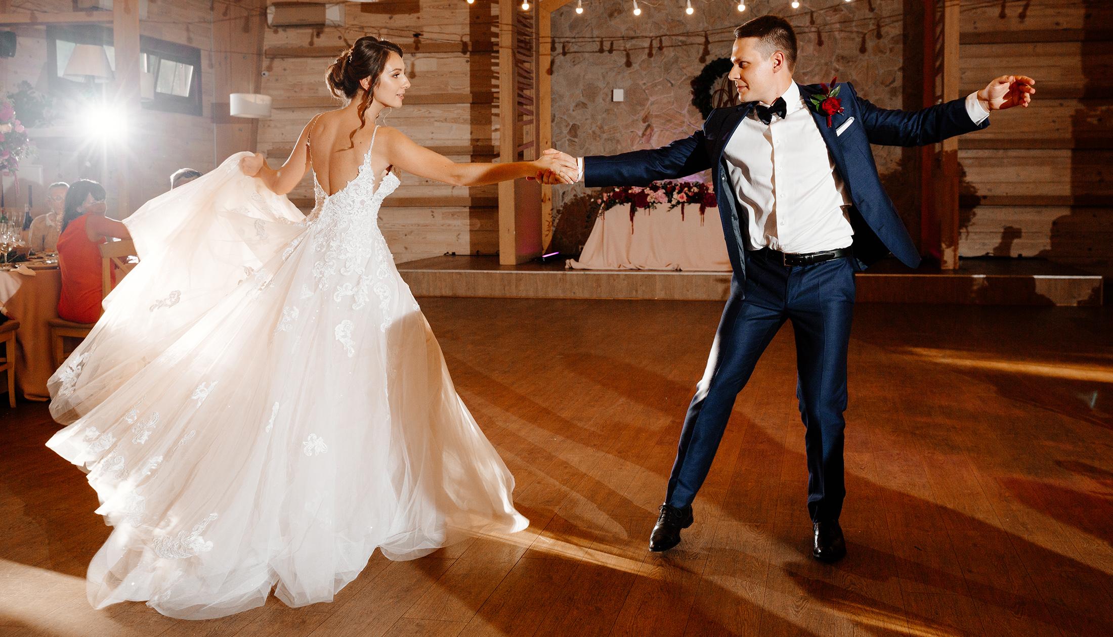 first dance at ukrainian wedding