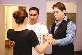first dance instructor