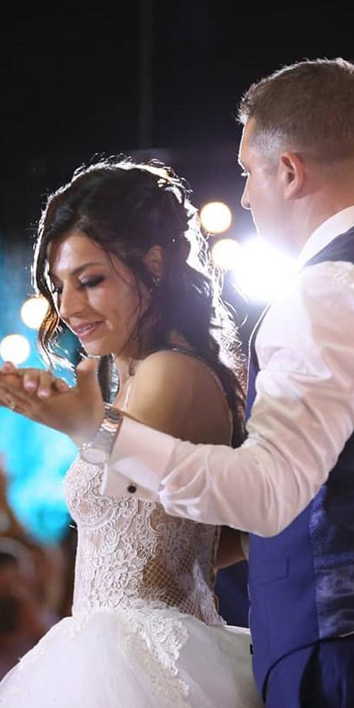 bridal dance - romantic and gentle