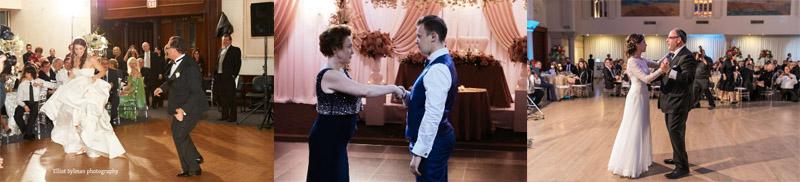 father-bride dance, mother-groom dance
